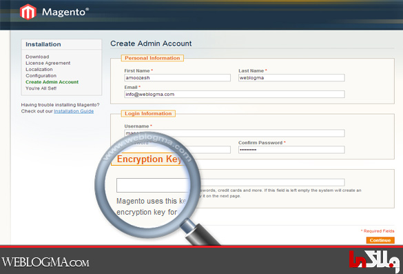 how_to_install_magento_step4_encrypt_key