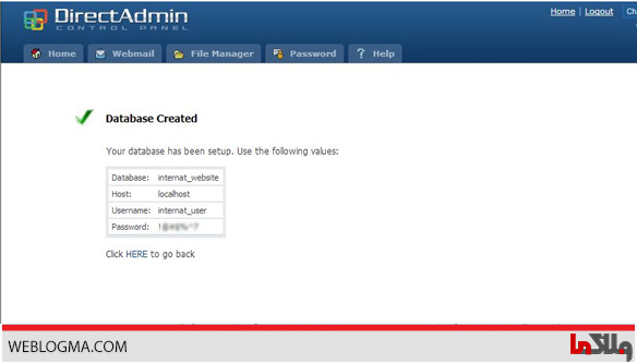 how_to_install_wordpress_on_directadmin-database-created
